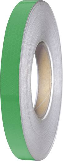 Fényvisszaverő ragasztószalag, zöld, 45 m x 19 mm, 1 tekercs, Tru Components