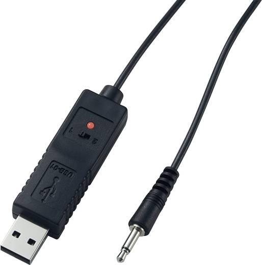 VOLTCRAFT USB interfész kábel, Alkalmas LX-1108, DO-100, RGB-2000, GM-100