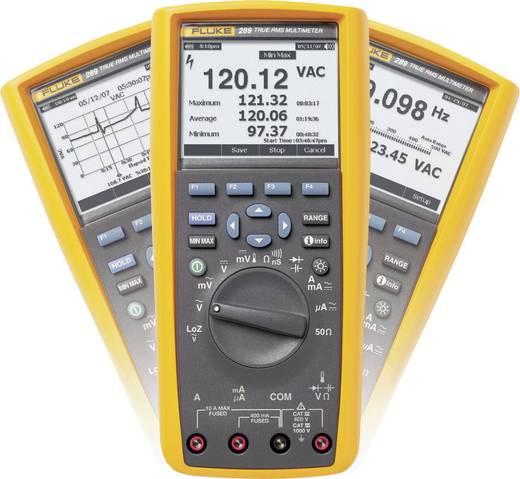 Grafikus multiméter, True RMS mérőműszer, adattárolóval 10A AC/DC Fluke 289/EUR