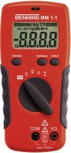 Digitális multiméter, mérőműszer, érintés nélküli feszültségvizsgálattal Benning MM 1-1 Benning