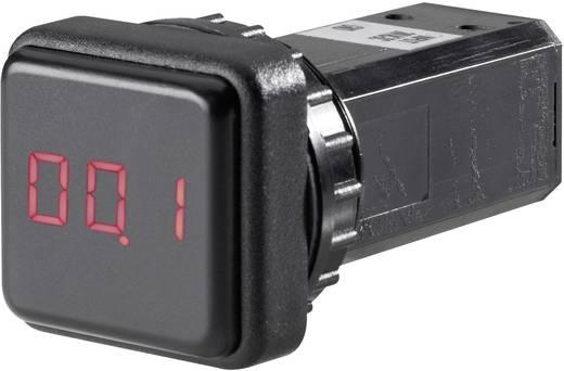 LED-es beépíthető kijelző, QMD 15A/DC