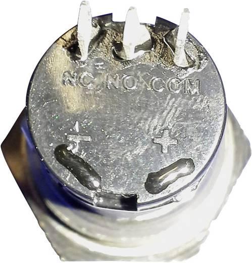 Beépíthető csengőgomb 24V/1A 22mm, nemesacél, 1 részes, renkforce 1227538