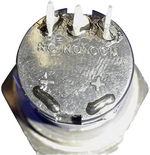 Beépíthető csengőgomb 24V/1A 22mm, nemesacél, 1 részes, renkforce 1227539