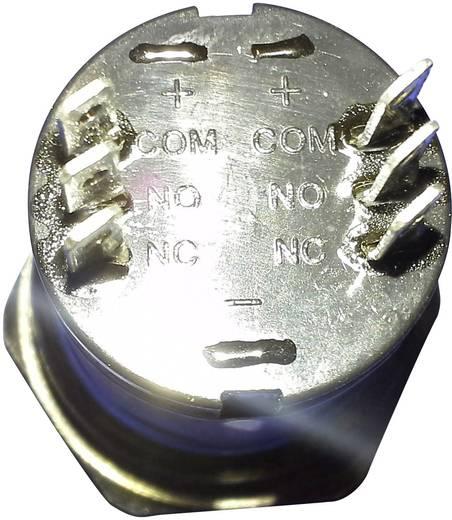 Beépíthető csengőgomb 24V/1A 28mm, nemesacél, 1 részes, renkforce 1227544