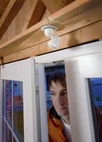 LED-es napelemes spot műhelylámpa mozgásérzékelővel, Esotec 102091 Esotec