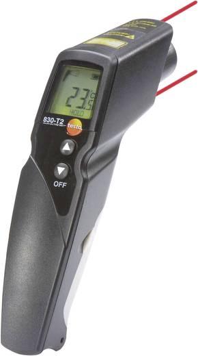 Infravörös hőmérő, távhőmérő 12:1 optikával -30 től +400°C-ig Testo 830-T2