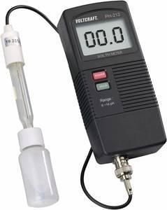 Talaj pH mérő műszer, 0 - 13 pH, Voltcraft pH-212 VOLTCRAFT