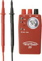 Vezetékvizsgáló, folytonosság vizsgáló multiteszter Testboy 20 (TESTBOY 20) Testboy