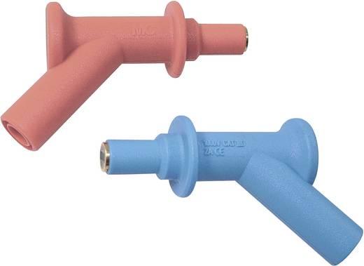 Mágneses mérőhegy 4 mm-es banán aljzattal, CAT III 1000V, piros MultiContact XMA-7