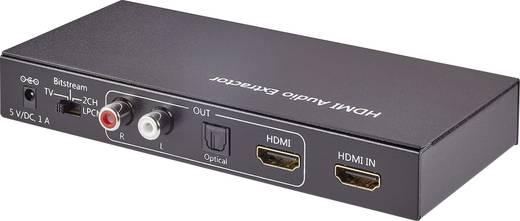 HDMI audio extraktor Toslink és RCA audio (jobb/bal) kimenettel, SpeaKa Professional