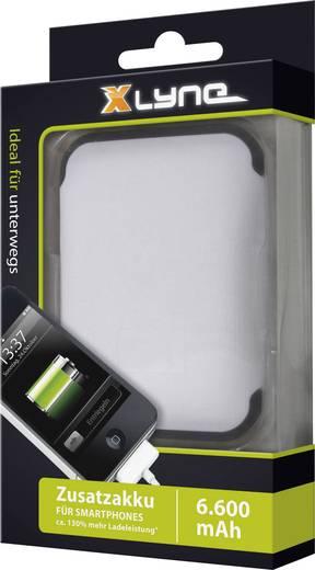 Mobil akku, hordozható töltő, Powerbank Li-Ion 6600 mAh akkuval Xlyne Powerbank X61E 92008