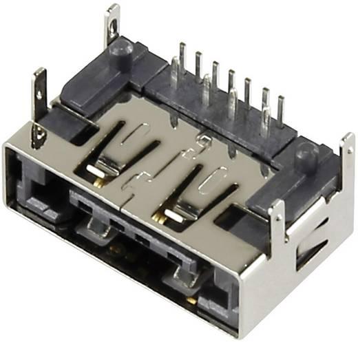 Kombinált beépíthető csatlakozóalj, eSATAp + USB 2.0, vízszintes 120713991-1 Conrad