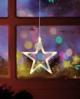 LED-es ablakdekoráció, csillag, elemes, Polarlite LBA-50-012 (LBA-50-012) Polarlite