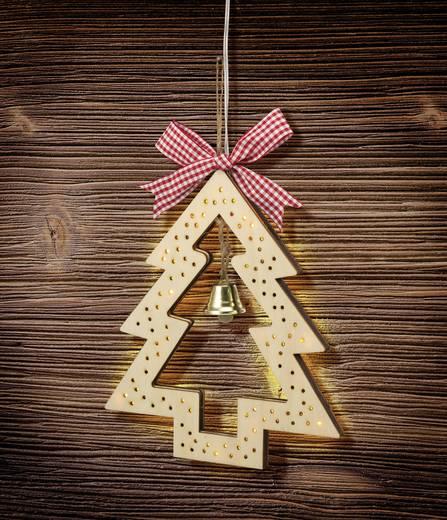 LED-es karácsonyi karácsonyfa fából, Polarlite LBA-50-013