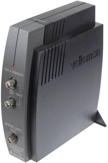 USB-s függvénygenerátor előtét, 2 csatornás 0.01 Hz - 2 MHz Velleman PCGU1000