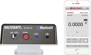 Bluetooth® adapter, VC810, Alkalmas: VC 830, VC 850, VC 870, VC880, VC890 VC810 VOLTCRAFT