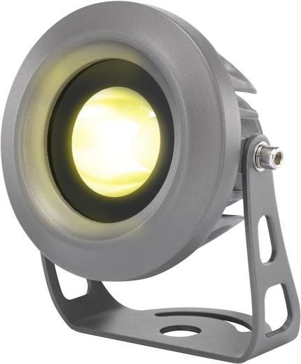 LED-es kültéri fényszóró 6 W melegfehér, renkforce LD0601-B szürke