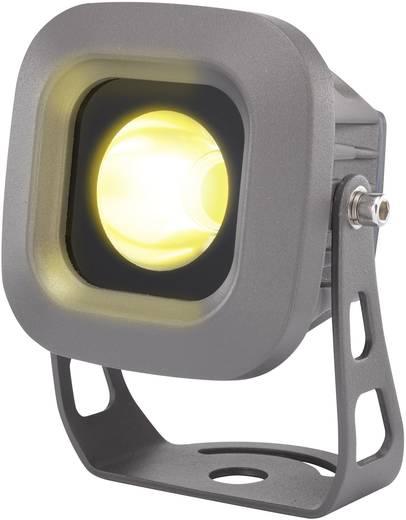 LED-es kültéri fényszóró 6 W melegfehér, renkforce LD0701-B szürke