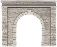 NOCH 58061 H0 Tunnel-Portal 1 sínes Keményhab kész modell NOCH