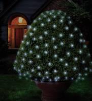 Kültéri fényháló, 96 LED-del, 230V/50 Hz, 3x3 m, hidegfehér, Polarlite (PNL-01-004) Polarlite