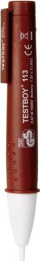 Fázisceruza, érintés nélküli feszültségvizsgáló multiteszter LED-es zseblámpával Testboy 113