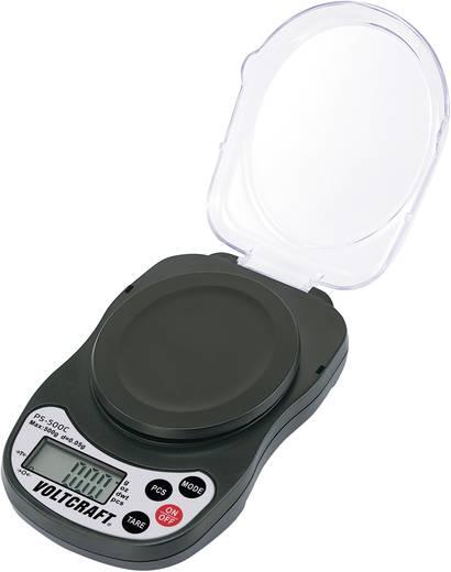 Precíziós zsebmérleg, ékszermérleg Max.:500 g/ 0,05g felbontás VOLTCRAFT®PS-500C