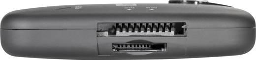 USB 2.0 OTG hub, 2 portos, SD kártyaolvasóval és mikro USB 3.0 dugóval, Renkforce