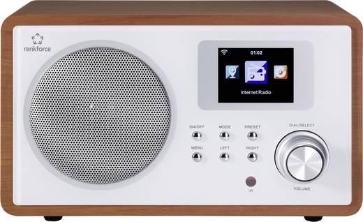 WLAN/WiFi-s Internetrádió, fa borítással Renkforce MS-60i