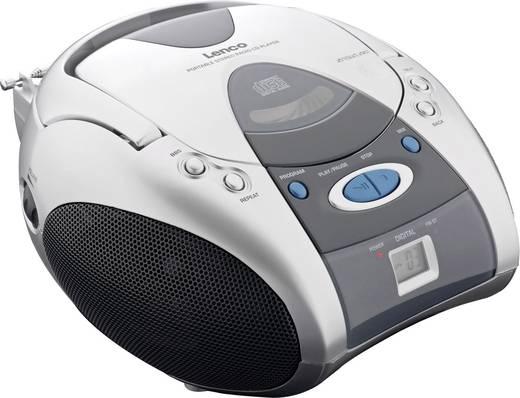 Hordozható CD lejátszó, rádióval Lenco SCD-26