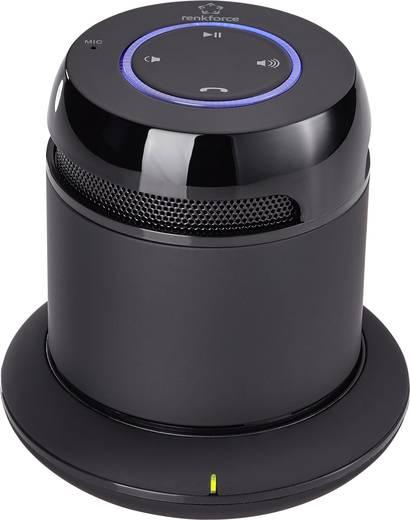 Bluetooth® hangfal töltőállomással, Fekete, Renkforce DS-1168