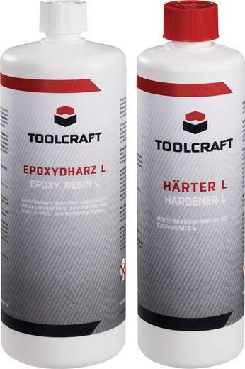 Epoxigyanta 1000 g és térhálósító L 400 g 1 készletben TOOLCRAFT 1230973