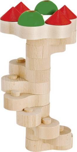 Fa építőkészlet, Torony, 22 részes készlet, Heros