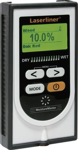 Anyagnedvességmérő, LaserLiner MoistureMaster
