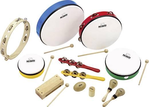 Ütős hangszer készlet, 12 részes, Nino Percussion