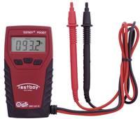 Digitális multiméter, zseb mérőműszer, LED-es zseblámpával CAT III 300V Testboy Pocket Testboy