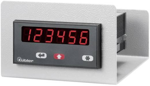 Beépítő DIN keret, foglalat számláló modulokhoz kapcsolószekrényekbe 96 x 48mm Kübler Codix G.300.005
