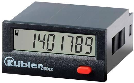 Üzemóra számláló modul 10-30V/DC 0-99999.99 h Kübler Codix 141