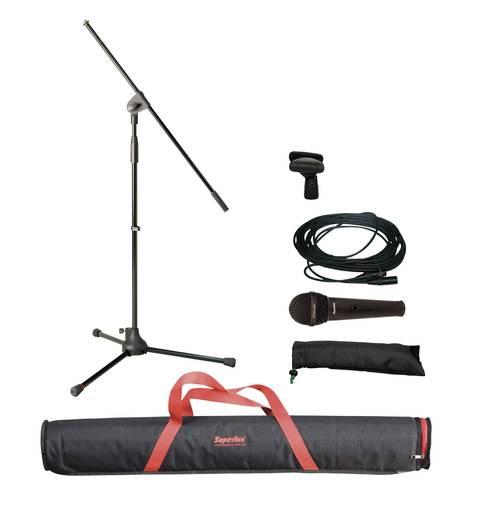 Dinamikus mikrofon készlet, állvánnyal Superlux MSKA 212652