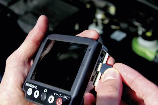 Endoszkóp kamera Ø 9,8 mm, 88 cm, 640 x 480 pixel, mikro SD foglalattal Voltcraft BS-250XWSD