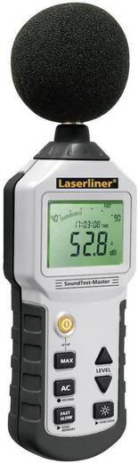 Decibel mérő, USB-s zajszintmérő, adattárolós mérőszoftverrel, 31.5 - 8 kHz 30 - 130 dB Laserliner SoundTest-Master