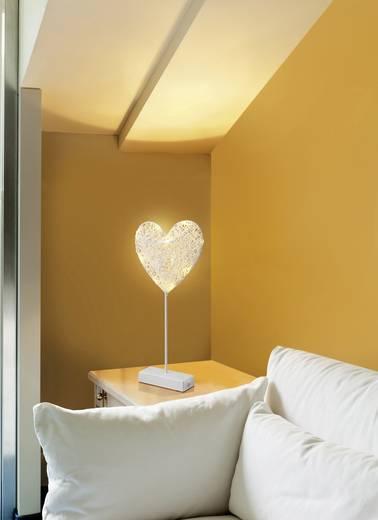 LED-es ablakdekoráció, szív, elemes, Polarlite 1233510