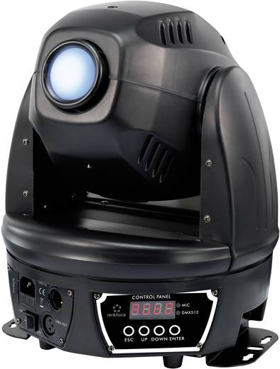 LED-es Moving-Head, Renkforce 60 W
