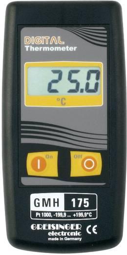 Greisinger GMH 175 precíziós hőmérő műszer cserélhető hőérzékelőkhöz, Pt1000 (2 vezetékes), -199,9 - +199,9 °C