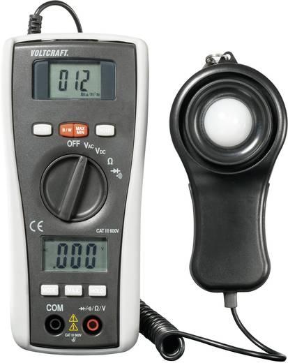 Digitális multiméter, Voltcraft SPM-1, napelemes besugárzási teljesítmény mérővel, kijelzés 2000-ig, CAT III 600 V
