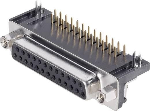 D-SUB hüvelyes kapocsléc 90 °, pólusszám: 25 BKL Electronic 10120043