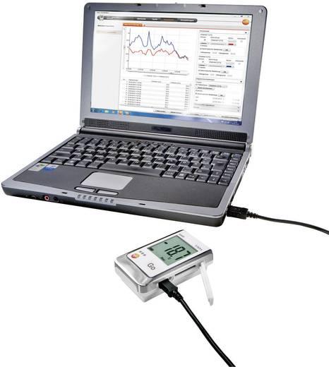 Hőmérséklet és páratartalom adatgyűjtő, mérés adatgyűjtő Testo 176 H2