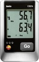 Hőmérséklet adatgyűjtő, mérés adatgyűjtő Testo 176 T4 (0572 1764) testo