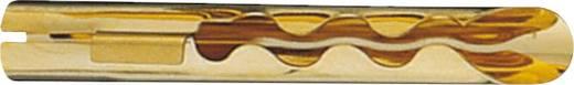 Hangszóró csatlakozó dugó, egyenes, arany, Oehlbach 3005 10 db