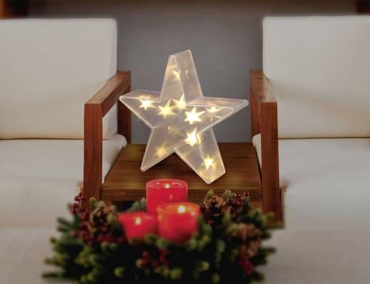 LED-es karácsonyi csillagdísz, Polalite PDE-04-003