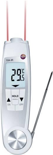 Infrahőmérő és beszúró hőmérő, HACCP ételhőmérő 10:1 Optikával Testo 104-IR